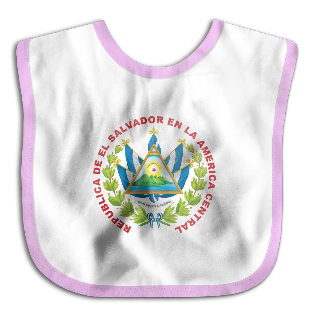 Marima Coats of Arms of El Salvador Personalized Scarf Bib Feeding /& Teething Fancy Baby Bibs and Burp Cloth Polyester Cotton