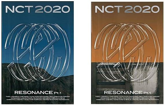 NCT2020 Resonance pt.2 Departure version Incl. Random NCT 2020 Transparent Photocard Set