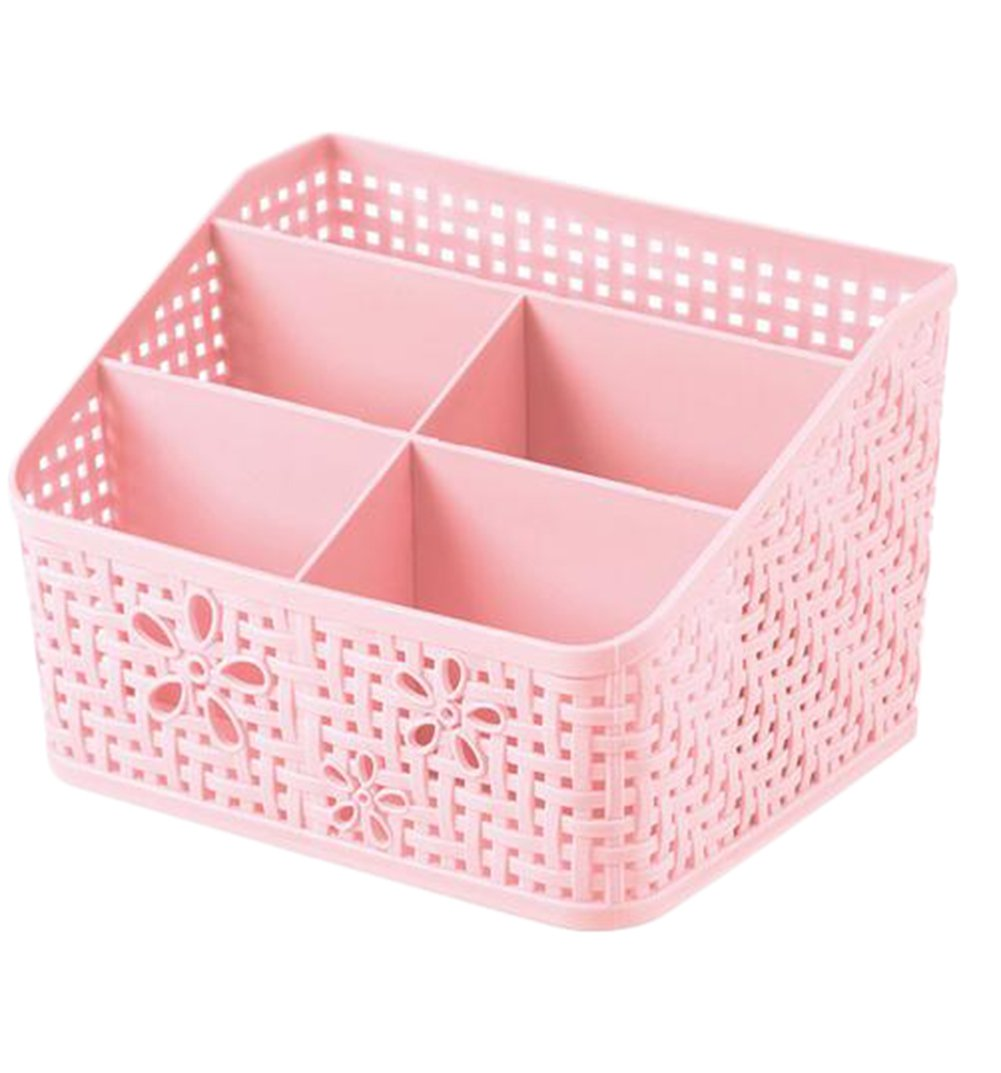 Outflower Creative Plastic cosmetic storage box Home Accessories Office Supplies Student Stationery Toys Containers Multifunctional Jewelry Box