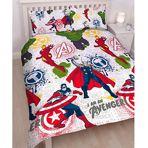 marvel duvet cover full - 9