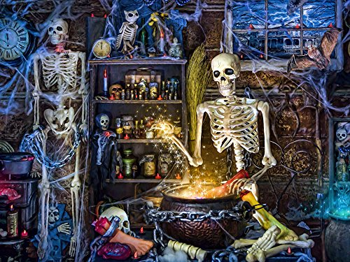 Vermont Christmas Company Skeleton's Stew Jigsaw Puzzle 550 -