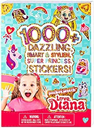 Fashion Angels Love, Diana 1000+ Cute Stickers for Kids, (56200) Fun Craft Stickers for Scrapbooks, Planners,