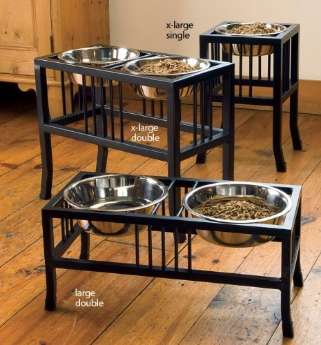 Orvis Wrought-iron Mission-style Feeder / Double Large Feeder, Black by Orvis
