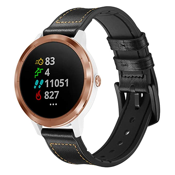 Amazon.com: NOMENI Watch Band for Garmin Vivoactive 3 ...