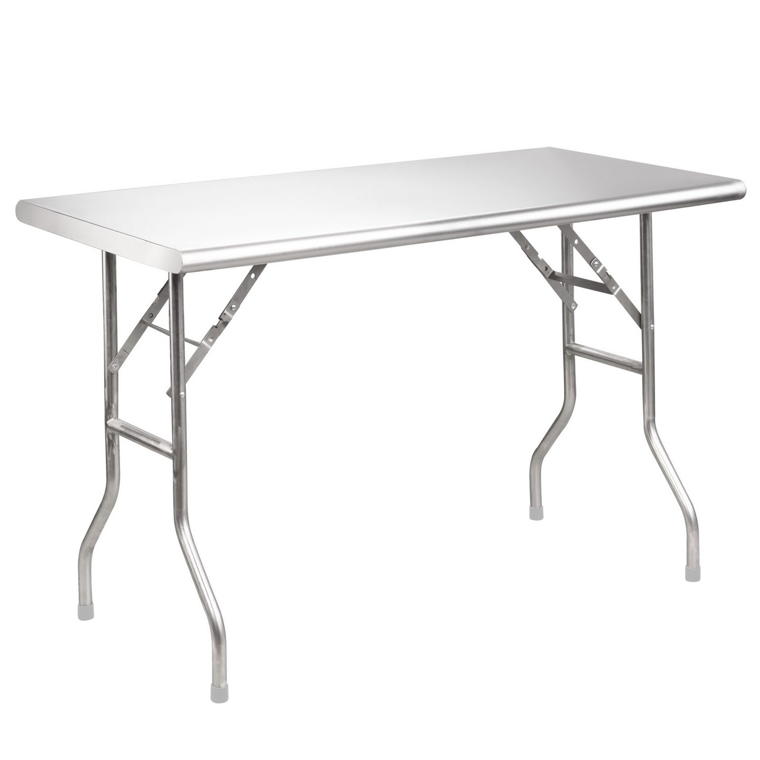 Royal Gourmet Stainless Steel Folding Work Table, 48'' L x 24'' W by Royal Gourmet (Image #1)