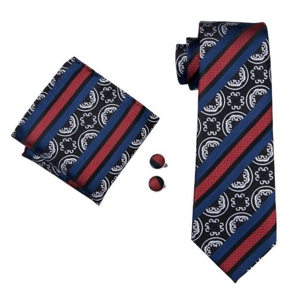 FA-905 Mens Ties 20 Styles Tie Hanky Cufflink Set Mens Business Gift Ties For