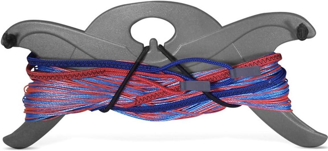 Gris Extension de ligne Planche /à cerf-volant de kitesurf Flexifoil 2 x 5m Gris