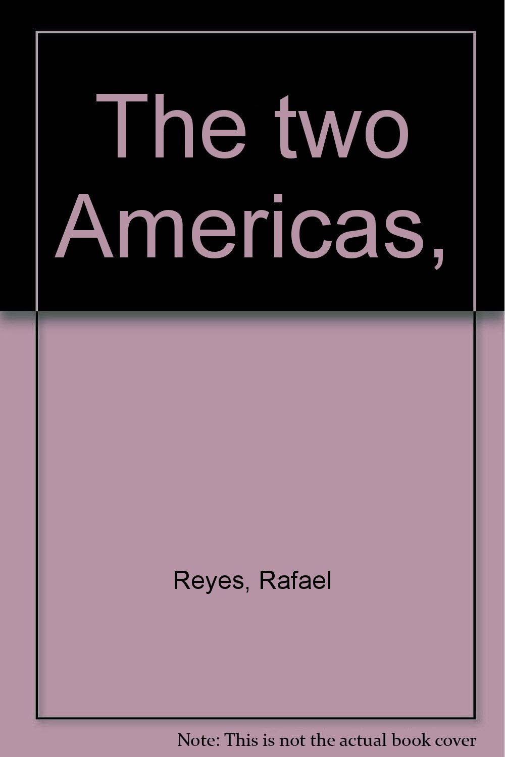 The two Americas,