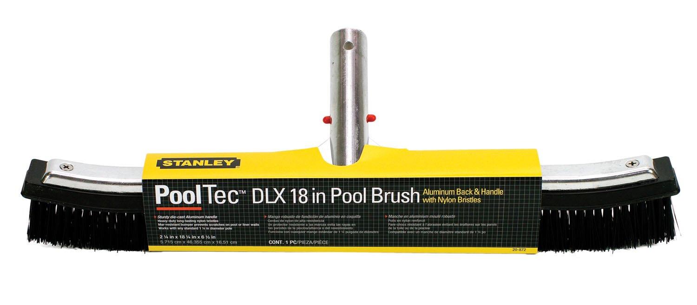 Stanley 20872 18'' DLX Aluminum-Back Pool Brush by Poolmaster