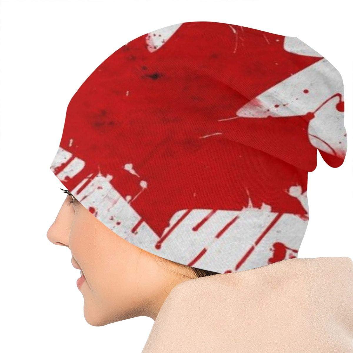 Men /& Women MMLCGG Canada Flag Soft Slouchy Beanie Hats Daily Long Baggy Skull Cap