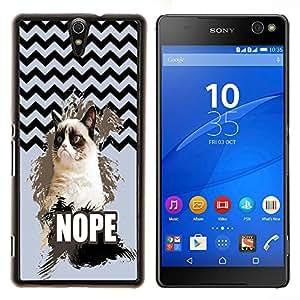Dragon Case - FOR Sony Xperia C5 Ultra - Everything happens for a reason - Caja protectora de pl??stico duro de la cubierta Dise?¡Ào Slim Fit