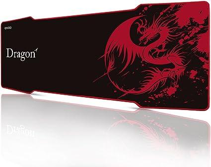 Rojo pterosaur-extra gran Gaming Mouse Pad XXXL 1000 * 380 * 5mm ...