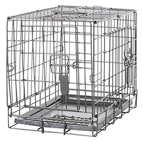 Amazon Com Dogit 2 Door Wire Home Crate With Divider X Small
