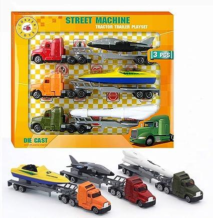 Metal /& Plastic Parts Kids Toy Friction Power Street Machines Quad Bike Die Cast