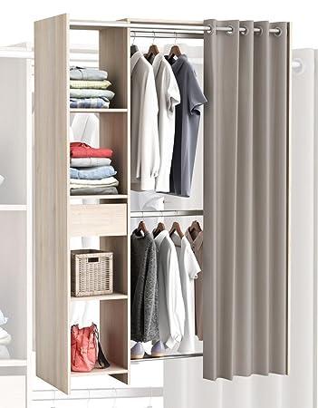Habeig Grosser Kleiderschrank 897 Begehbar Offen Garderobe Schrank