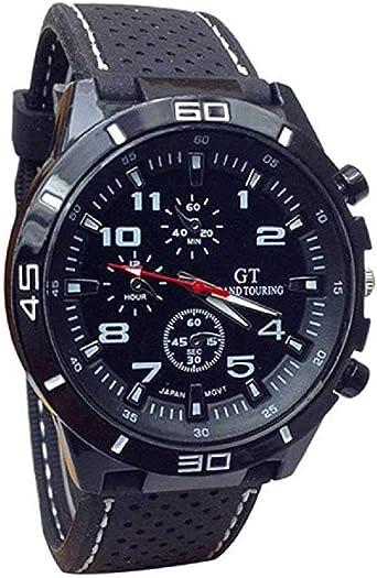 WSSVAN Reloj, reloj de cuarzo militar de los hombres de la