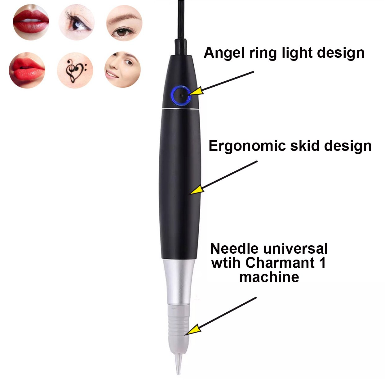 Schönheit & Gesundheit Streng Neueste Permanent Make-up Tattoo Maschine Kits Professionelle Digitale Tattoo Maschine Augenbraue Lip Stift Maschine Sets Mit Nadeln