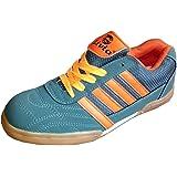 Livia Badminton Shoes for Men Boys Women Girls Junior PU Material Non Marking Sole Outdoor Indoor Playing - Best in Running Walking Sports Jogging