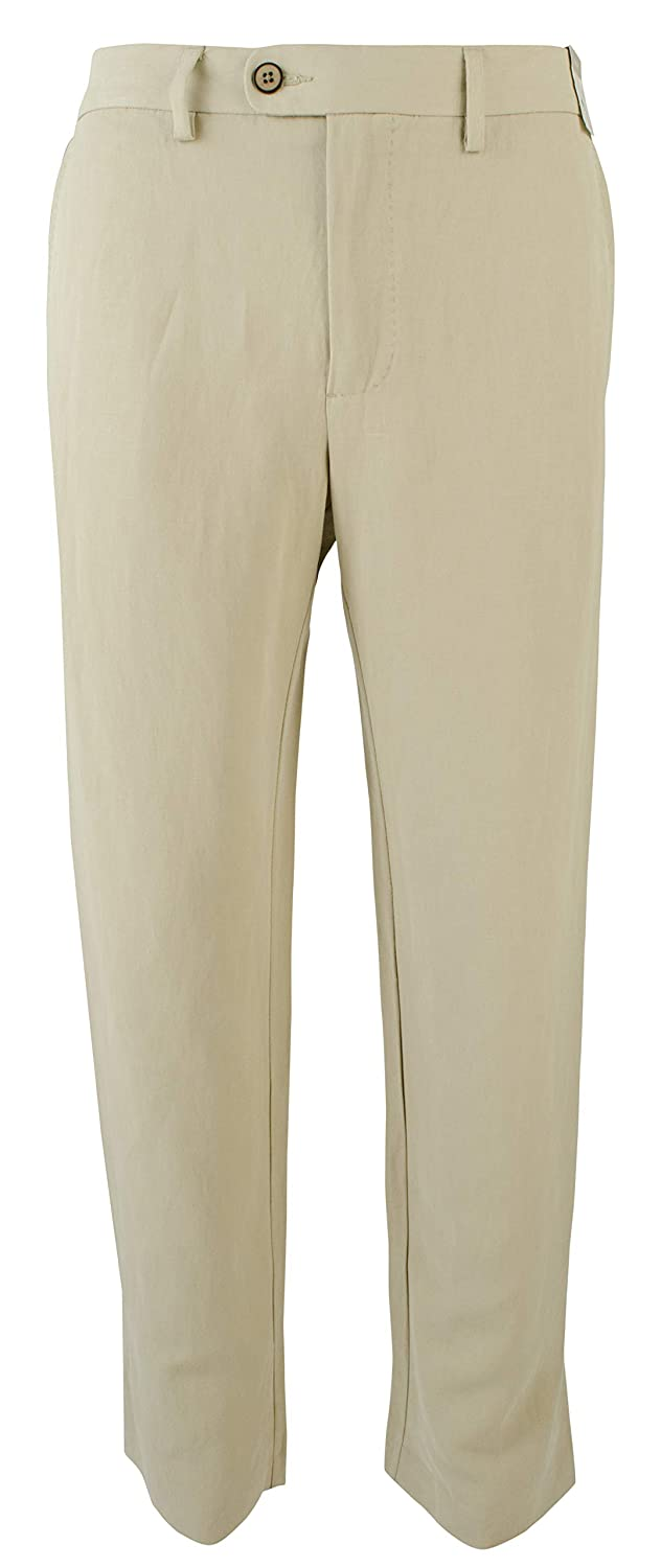 0d1d70dcb602f Tommy Bahama Men s Monterey Authentic Linen-Blend Pant at Amazon Men s  Clothing store
