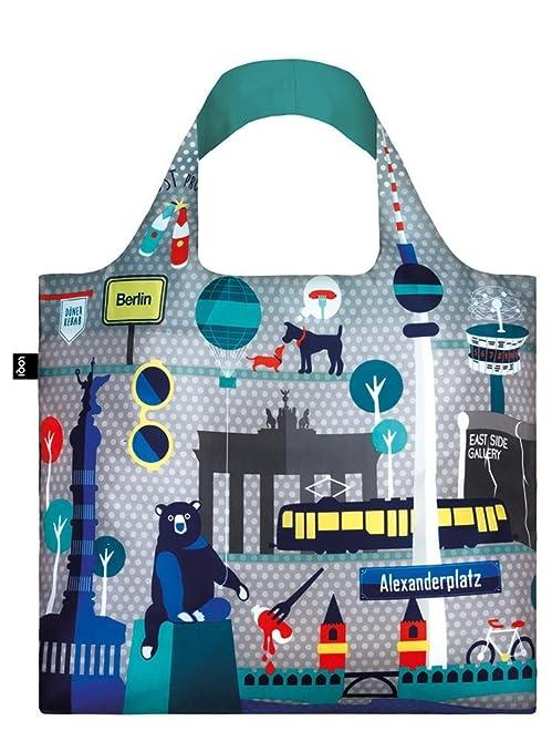 Loqi UR.BE - Bolsas de la compra reutilizables, soporte hasta 20 kg, multicolor