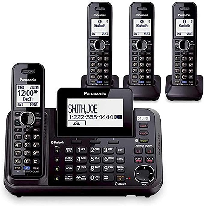 Best 2 Line Cordless Phone 2020 2 Line Cordless Phone Systems