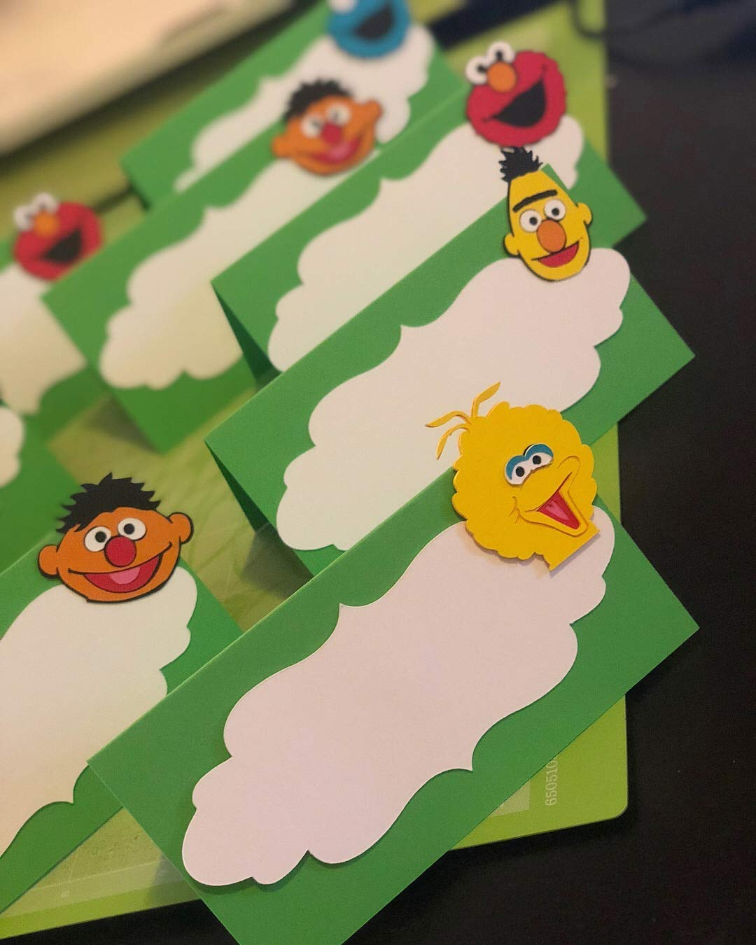 12 Elmo - Sesame Street Party Placecard/Food tents/Food labels 61NSTMMgQ1L