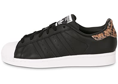 on sale 34a30 8f890 Image Unavailable. Image not available for. Colour  adidas Superstar Black  Snake ...