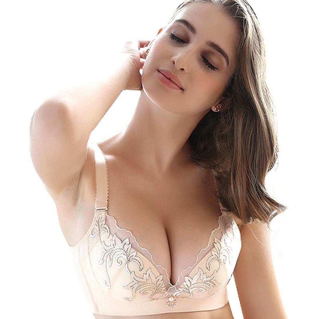 Plunge Push Up Bra