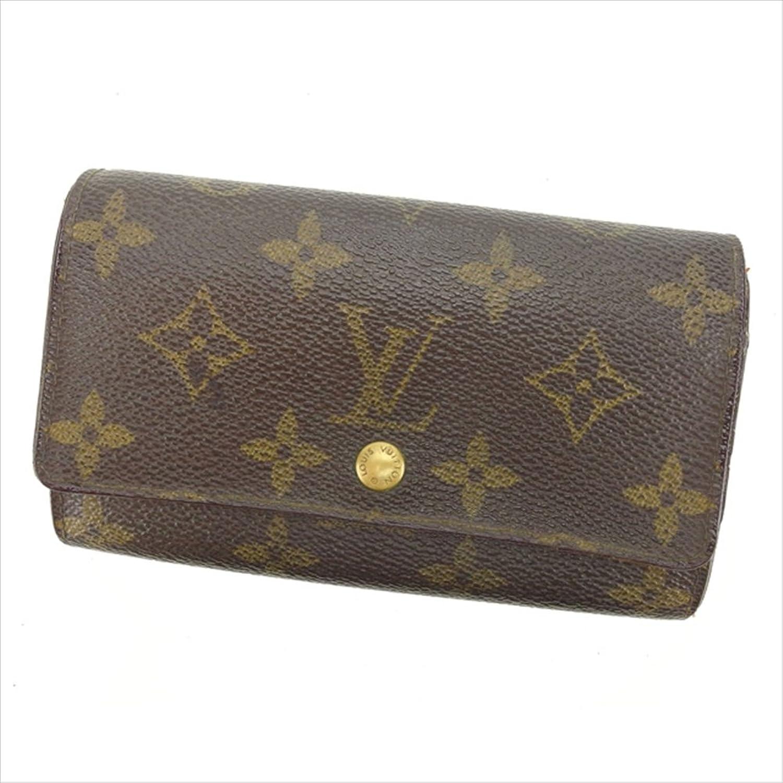 [ルイヴィトン] Louis Vuitton 二つ折り財布 廃盤レア 男女兼用 ポルトモネジップ M61735 モノグラム 中古 Y4321 B0772RNM3P