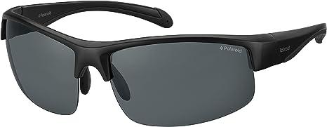 Polaroid PLD 7019/S M9 gafas de sol, Negro (Black/Grey Grey), 70 Unisex-Adulto