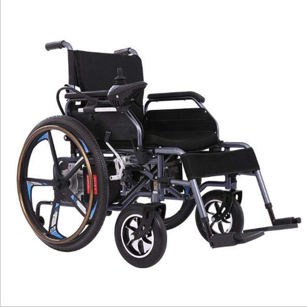 Electric Wheelchair,Modern Safety Design Four-Wheeled Light Folding Carry  Durable Electric Wheelchairs Disabled Elderly Outdoor Non-Sliding  Comfortable Wheelchair: Amazon.in: Health & Personal Care