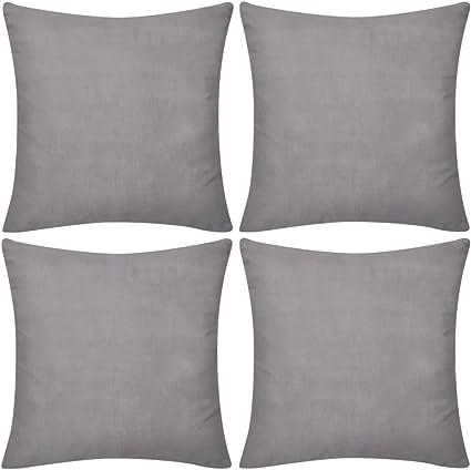Kissenbezug Kissenhülle 40x40 50x50 13 Maße Kissen 100/% Baumwolle Bezug 2 Farben