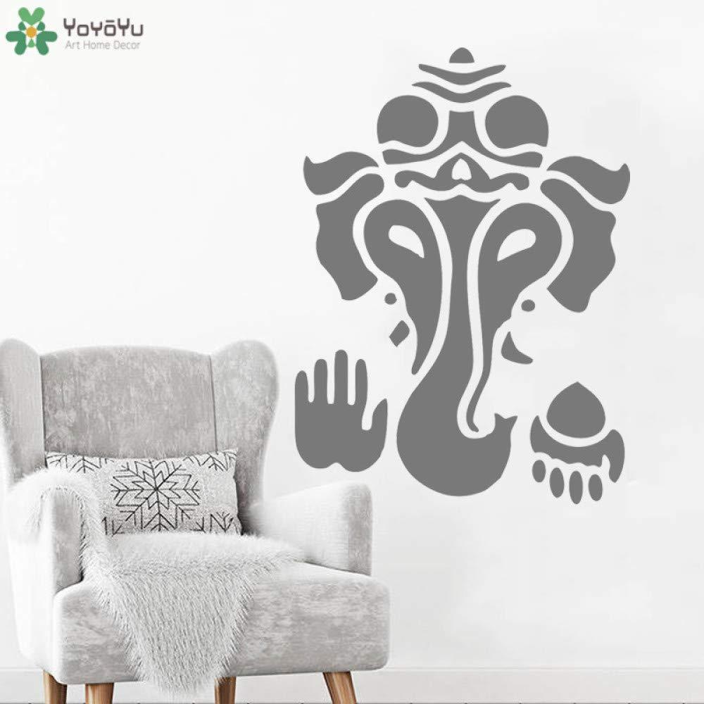 Elefante Bohemio Tatuajes de Pared Dios Indio Ganesha Vinilo ...