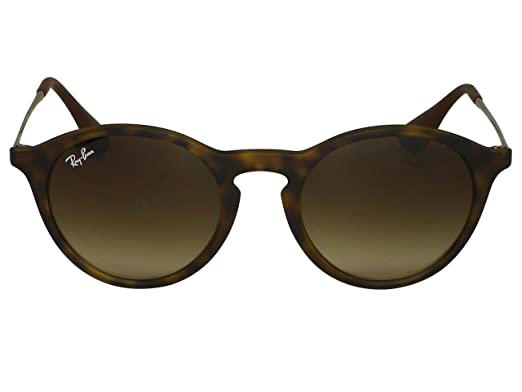 cd8ded26c2 Ray Ban RB4243 622 8G Rubber Black Sunglasses  Amazon.co.uk  Clothing