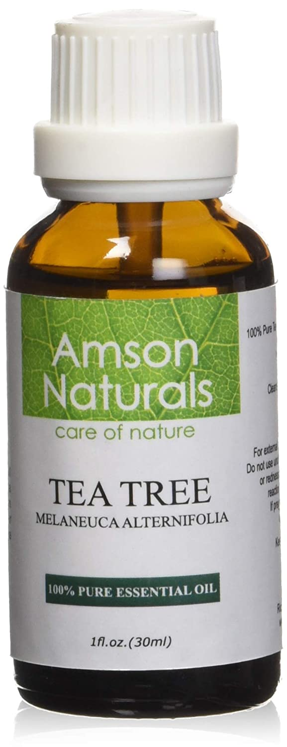 TEA TREE Essential Oil 1oz (30ml) - 100% Pure & Natural –by Amson Naturals