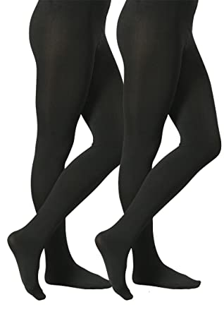 2 pièces THERMO collants pour les femmes, à l intérieur avec polaire douce  et chaude, noir  Amazon.fr  Vêtements et accessoires f255f9a53249