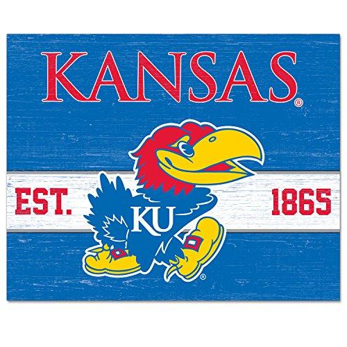 CounterArt/Collegiate 10 by 8-Inch Glass Cutting Board, Kansas Jayhawks ()