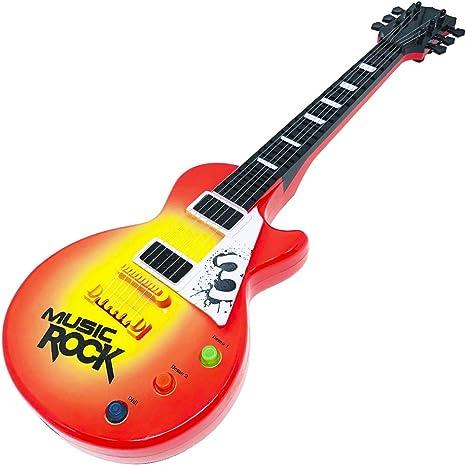 Guitarra com luz e som, linha show/ 8PC LVIS