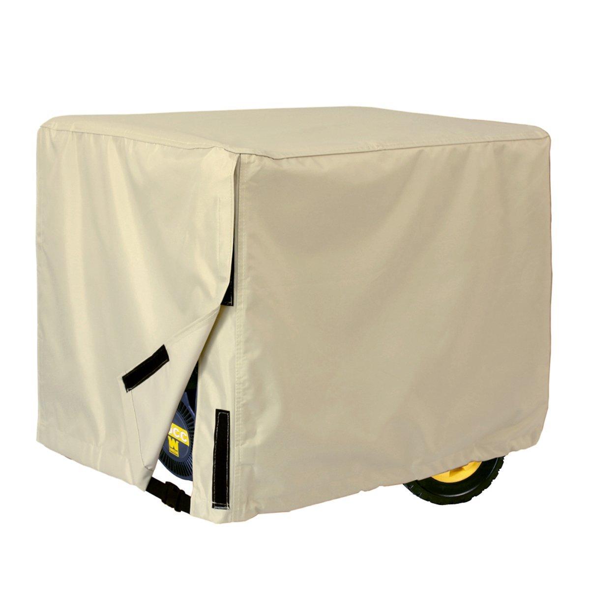 Porch Shield 100% Waterproof Universal Generator Cover (Fits generators up to 66 x 50.8 x 50.8 cm, Light Tan) 10604001