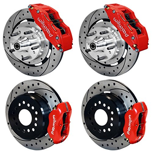 4 Piston Rear Brake Caliper - NEW WILWOOD FULL DISC BRAKE KIT, 12