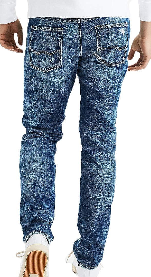Dark Rinse 36//32 American Eagle Mens Flex Slim Jean