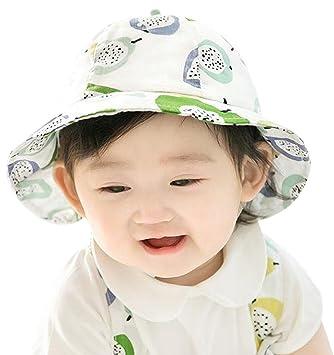 dac557c0865ca GEMVIE ベビー用ハット つば広 赤ちゃんキャップ サファリハット キッズ 帽子 子供 果物 女の子 男の子