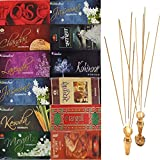 12 Scent Assortment Incense-Sticks Handmade-Hand-Dipped GIFT SET-280 Stick - Best Reviews Guide