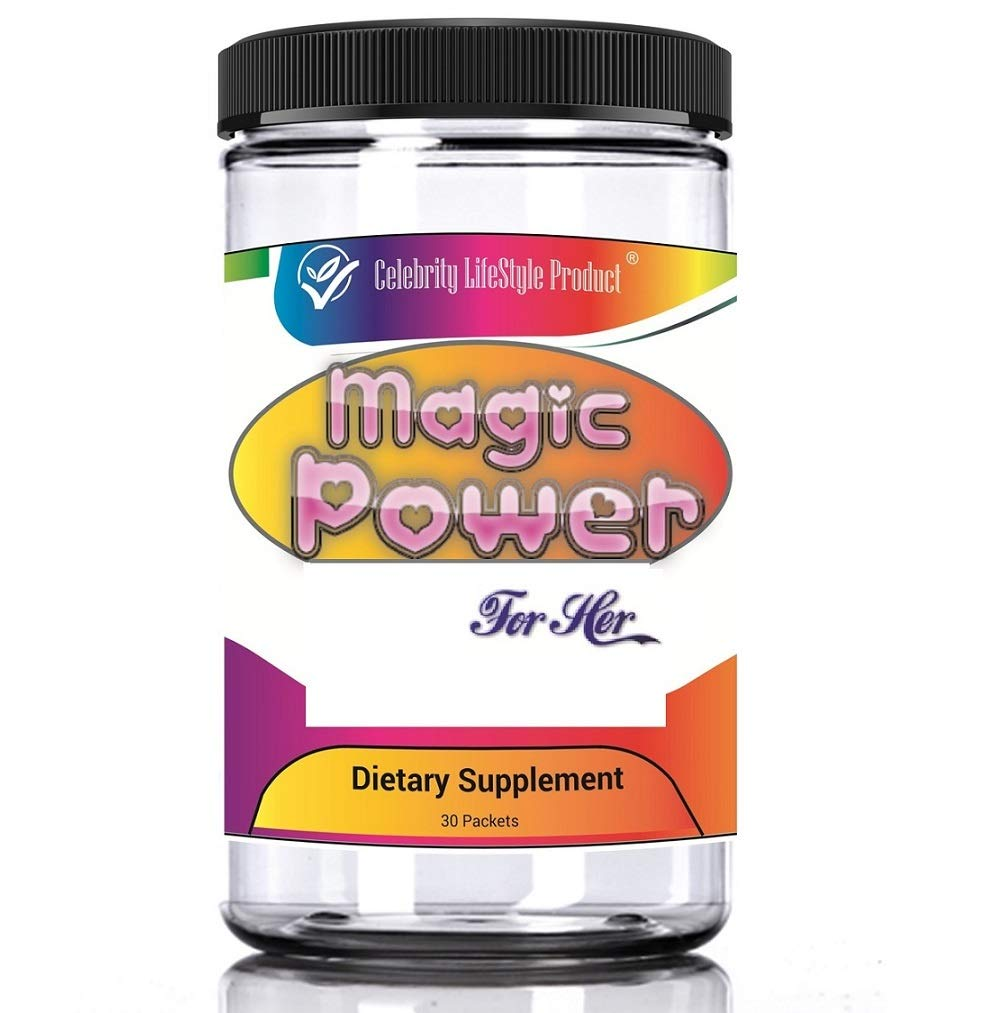 Magic Power for Her 30 Packets (120 Pills) Supplement Pills for Women by Celebrity Life Style Product