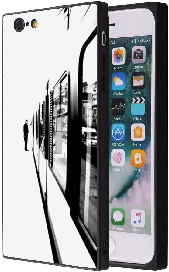 Amazon Com Metro Passenger Iphone 6s Plus 6 Plus Case Soft Flexible Tpu Back Cover Rectangle Case Compatible With Iphone 6s Plus 6 Plus Black