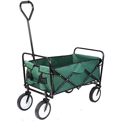 Amazon.com: FIXKIT Carro de la compra plegable al aire libre ...