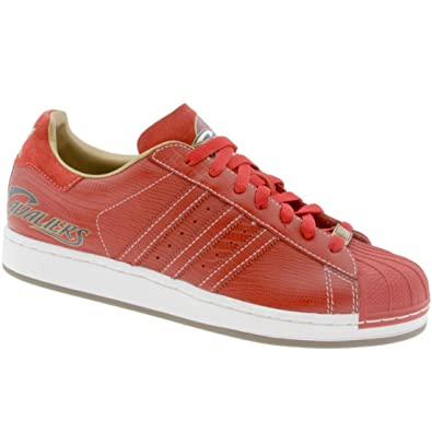 Adidas Men\u0027s ADIDAS SUPERSTAR 1 NBA CLEVELAND CAVALIERS BASKETBALL SHOES  11.5 (UNI RED/UNI