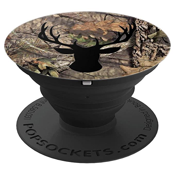 Amazon.com: Outdoor Hunting Camouflage Gift with Deer Head realtree camo - PopSockets Grip and Stand for Phones and Tablets: Cell Phones & Accessories