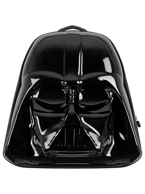 bb73122637 STAR WARS The Force Awakens Darth Vader Mask 3D Shaped Backpack  (Bp091408Stw) Casual Daypack, 45 cm, Black: Amazon.co.uk: Luggage