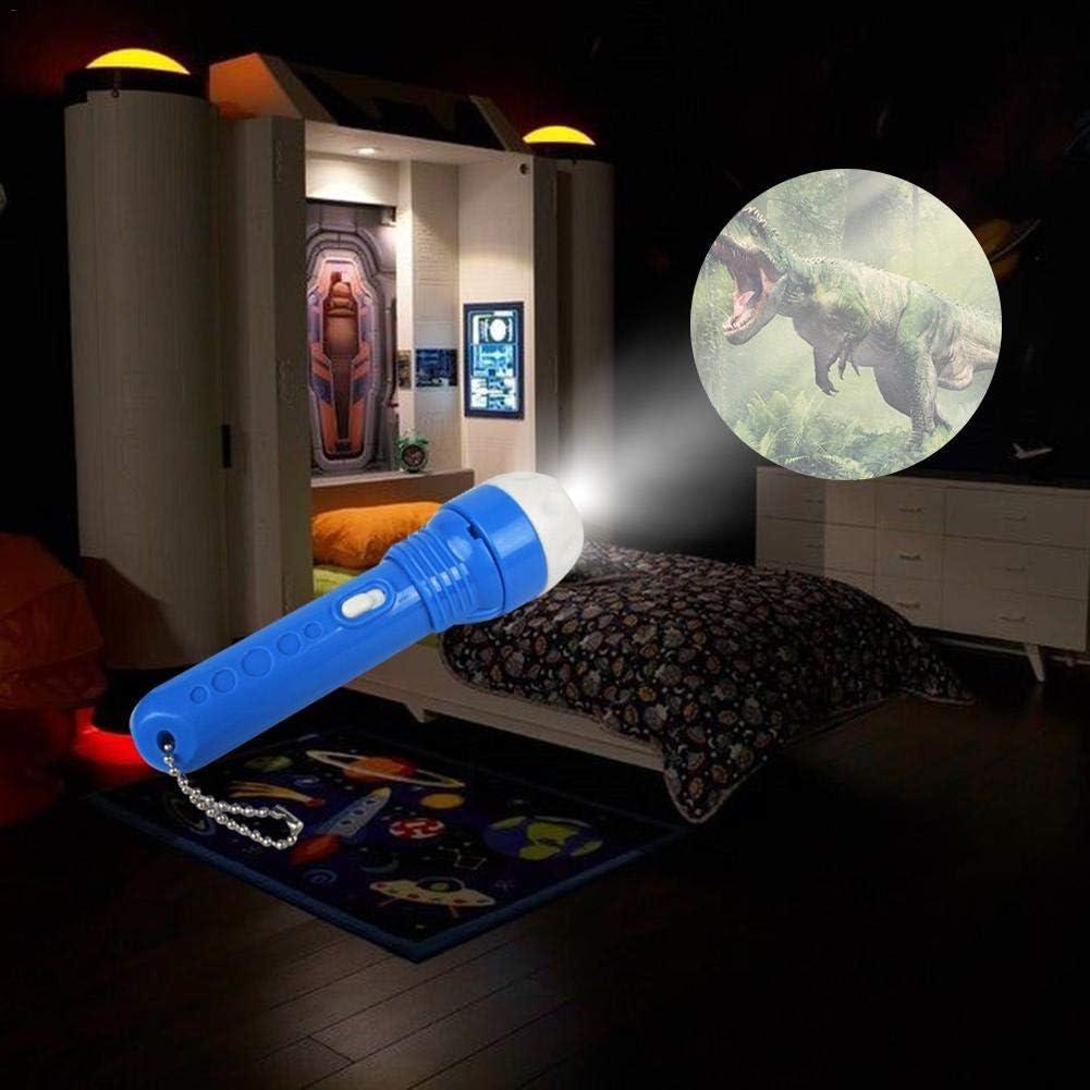 iShin/é Mini Projecteur Jouet 1Mod/èles 24 Images Histoire Classique R/écit Lampe de Poche Projecteur /Éducatif Jouet Enfant
